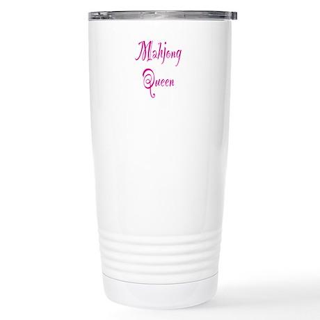 Mahjong Queen Stainless Steel Travel Mug