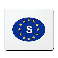 EU Sweden Mousepad