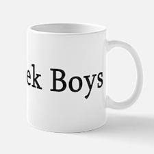 I Love Greek Boys Mug