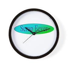 Scrap Fever Wall Clock