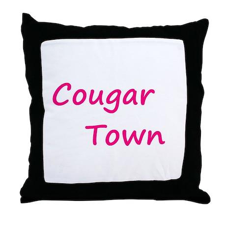 Cougar Town Throw Pillow