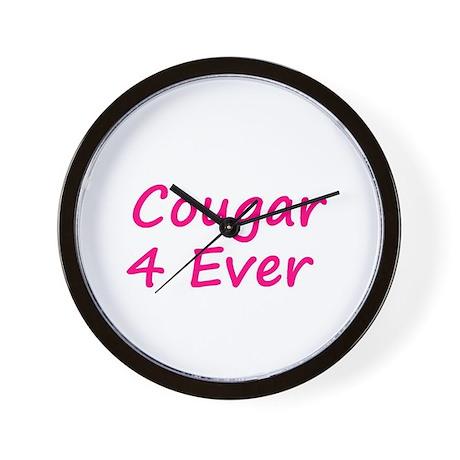 Cougar 4 Ever Wall Clock