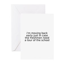 Cute Just moved Greeting Cards (Pk of 20)