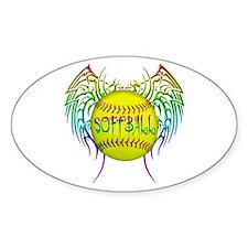 Tribal softball Decal