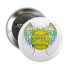"Tribal softball 2.25"" Button"