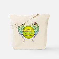 Tribal softball Tote Bag