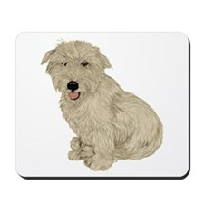 Glen of Imaal - White Mousepad