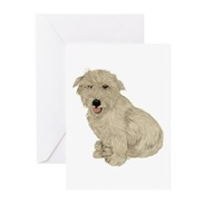 Glen of Imaal - White Greeting Cards (Pk of 10)