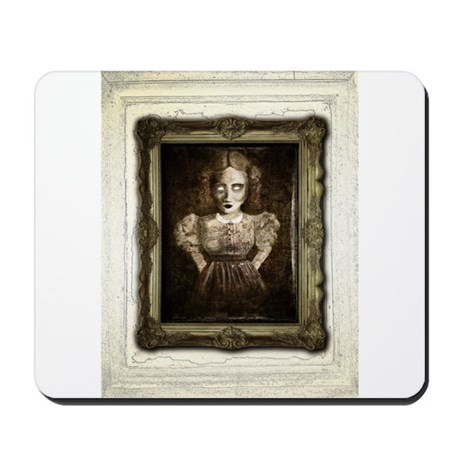 Haunted Helen Mousepad