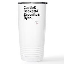 Castle&Friends Stainless Steel Travel Mug