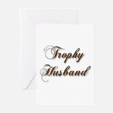 Cool Trophy husband Greeting Cards (Pk of 10)