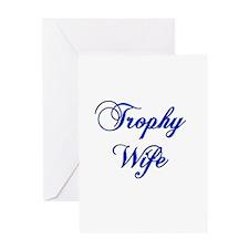 Unique Trophy husband Greeting Card