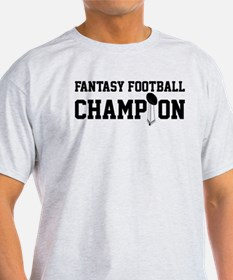 Fantasy Football Champion w/ Trophy T-Shirt