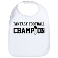 Fantasy Football Champion w/ Trophy Bib