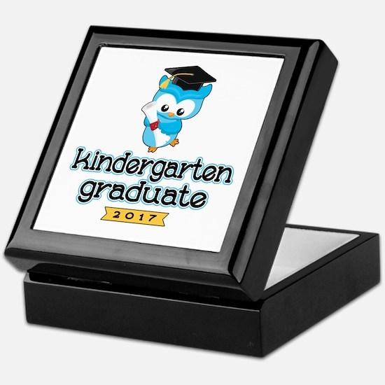 Kindergarten Grad 2017 Keepsake Box