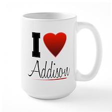 I Heart Addison Mug