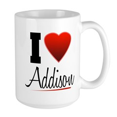 I Heart Addison Mug