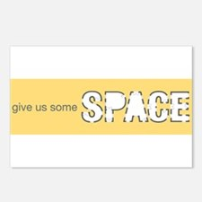 Give Us Some Space Postcards (Package of 8)