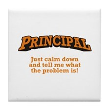 Principal / Problem Tile Coaster