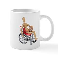 Football Wheelchair Mug