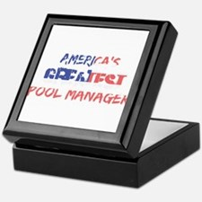 America's Greatest Pool Manager Keepsake Box