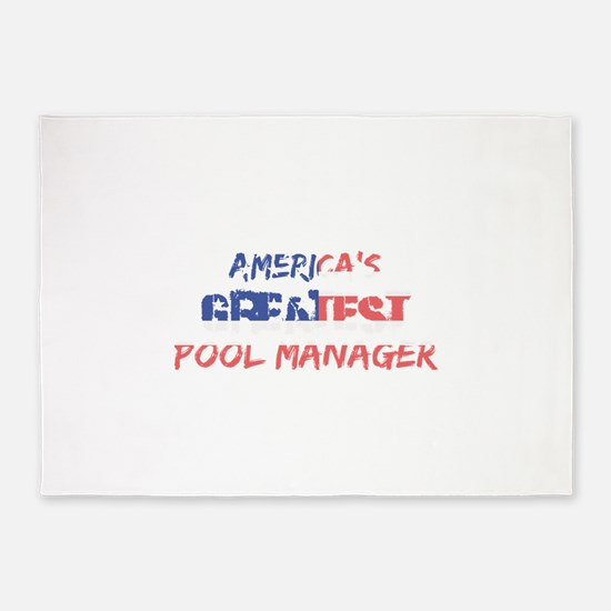 America's Greatest Pool Manager 5'x7'Area Rug