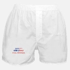 America's Greatest Pool Manager Boxer Shorts