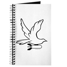 DOVE PEACE BOMBER Journal