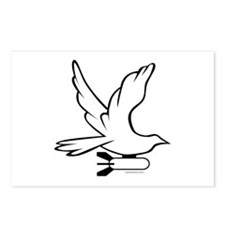DOVE PEACE BOMBER Postcards (Package of 8)