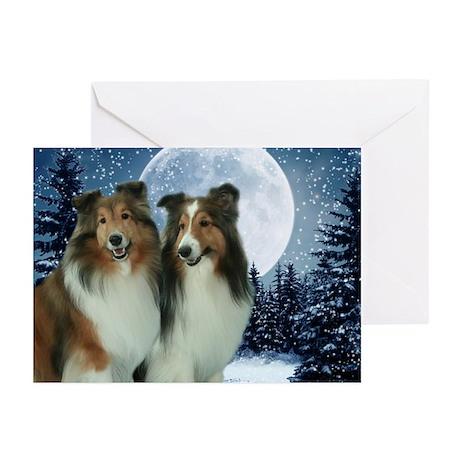 Winter Shelties Cards (Pk of 10)