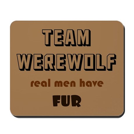Team Werewolf Mousepad