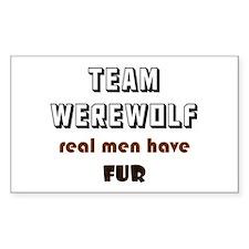 Team Werewolf Decal