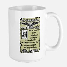 """Adams: Our Constitution"" Large Mug"