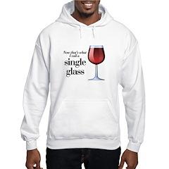 Single Glass Hooded Sweatshirt