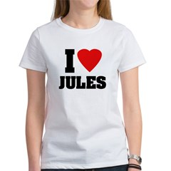I Heart Jules Women's T-Shirt