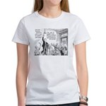 Humorous Political Science Women's T-Shirt