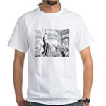 Humorous Political Science White T-Shirt
