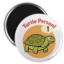 Turtle Person Magnet