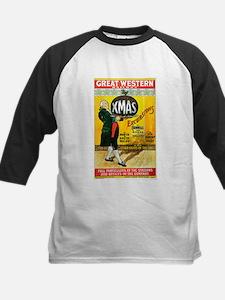 Vintage Great Western Railway Kids Baseball Jersey