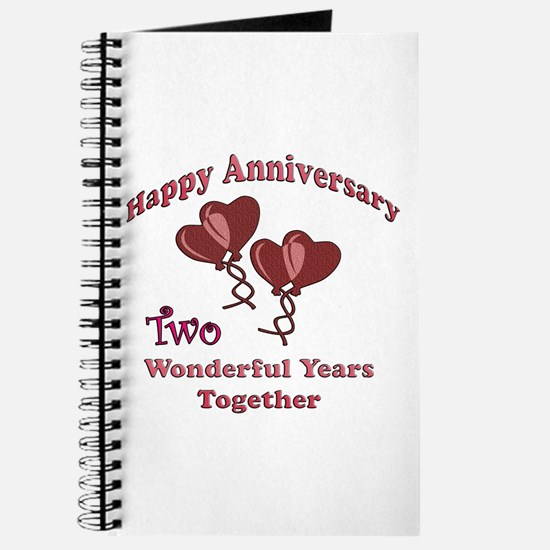 2nd anniversary Journal