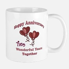 two hearts two Mugs