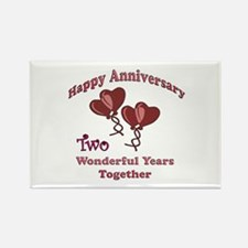 Cool Wedding anniversary party Rectangle Magnet