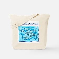 One Love, One Ocean Tote Bag
