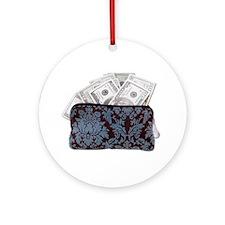 Mad Money Ornament (Round)