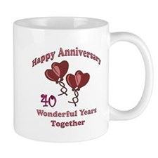Cute Wedding anniversary party Mug