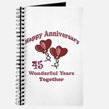 Cool 45 anniversary Journal