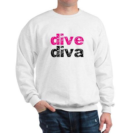 dive diva Sweatshirt