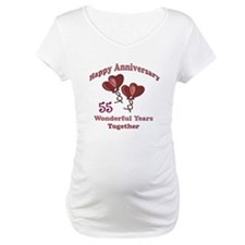 Unique 55th wedding anniversary Shirt