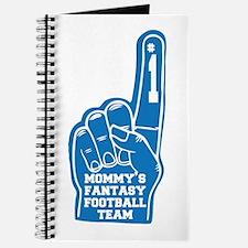 Mom's Fantasy Football Foam Finger Journal