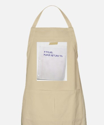 If Found Apron